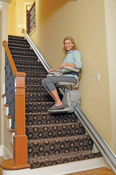 Elan Indoor Straight Rail Stair Lift