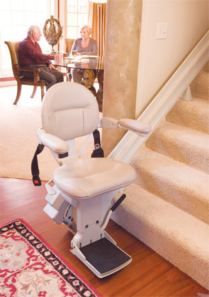 Elite Indoor Straight Rail Stair lift