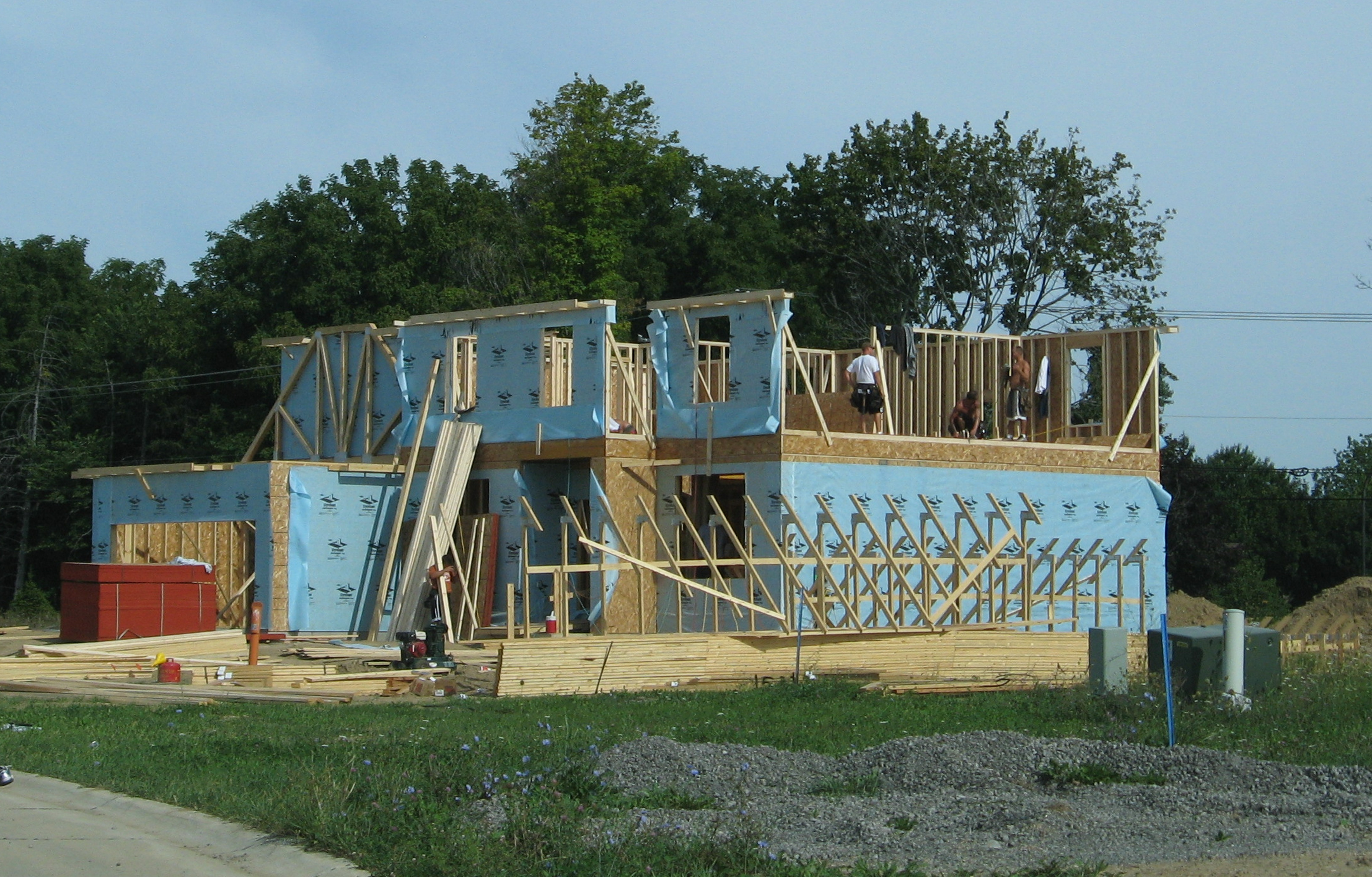 New Home Construction Accessible Housing